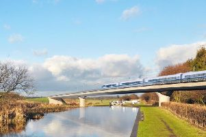 Phase two of the HS2 high speed rail project to connect London with Leeds and Manchester (via Birmingham) will open in 2032-33.