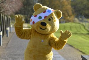Pudsey the bear is from Leeds, well he was designed by Leeds designer Joanna Lane and named after her hometown of Pudsey