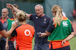 England Women's head coach Simon Middleton (Picture: David Rogers/The RFU Collection).