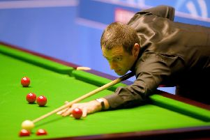 Ronnie O'Sullivan: Begins title defence.