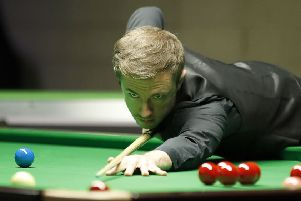 Jack Lisowski during his win over Marco Fu.