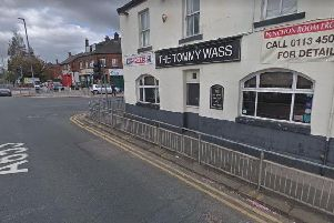 The crash happened outside the Tommy Wass in Beeston