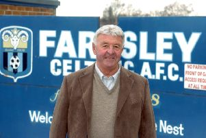 Looking to the future: Farsley Celtic football club chairman John Palmer, pictured in 2010. Picture: Tony Johnson