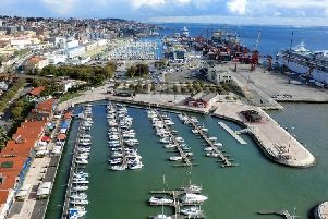 The couple were detained in the port of Lisbon