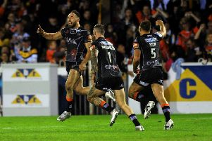 Castleford Tigers reached the Grand Final in 2017 thanks to Luke Gale's late drop goal against St Helens in the play-off semi-final.