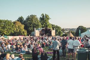 Big name music stars will play at Pub In The Park