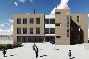 ARTIST IMPRESSION: How one of the new blocks is expected to look.