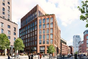 Demolition work started this week to make way for CEG's �350m development in the South Bank area of Leeds