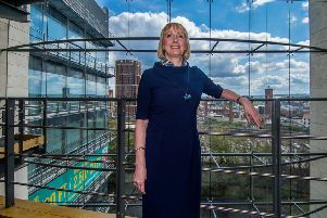Date: 1st may 2018.'Picture James Hardisty.'Paula Dillon, a highly regarded development and investment lawyer at Womble Bond Dickinson, Whitehall Riverside, Leeds, has become the first female President of the Leeds Chamber of Commerce.