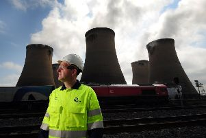 Feature on Drax Power Station, near Selby..CEO Andy Koss is pictured.24th May 2018 ..Picture by Simon Hulme