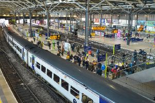 Leeds train station. Picture: SWNS