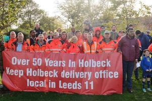 Union workers have won a campaign to keep Holbeck delivery office open.