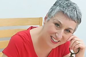 Karen Wright was a contestant on the 2018 Great british Bake Off. She is now baking in her hometown in the demonstration tent at Wakefield's Festival of Food, Drink and Rhubarb.