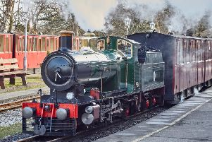 Kirklees Light Railway open again for spring and summer country trips