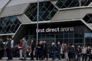 First Direct Arena. Picture by James Hardisty.