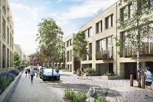 The homes set to be built by CEG at Kirkstall Forge