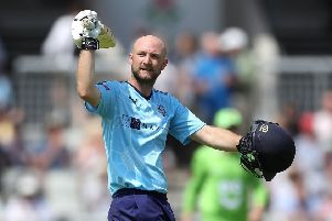 Yorkshire's Adam Lyth: Sights on new competition.