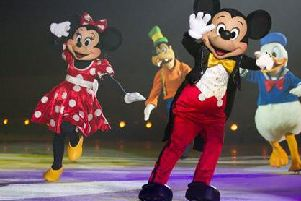 A host of beloved characters from popular animated Disney films will star in the magical show, including Mickey and Minnie Mouse