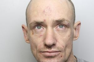 The footage captured career criminal Gareth Newby as he used a metal bar to smash his way to 6,000 worth of jewellery.