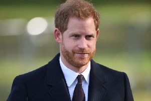 The Duke of Sussex arrives at Cannon Hill Park, Birmingham, to officially open a memorial dedicated to victims of the 2015 terror attacks in Tunisia. Picture: Joe Giddens/PA Wire