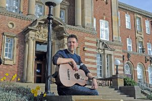 Carl Flattery is a lecturer in the music department at Leeds Beckett University. Picture Tony Johnson.