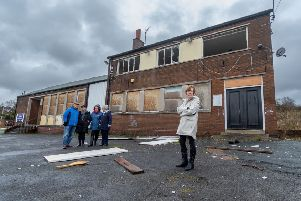 A number of residents living along Kentmere Avenue, Seacroft, Leeds, are complaining about condition of the former Gate Inn.