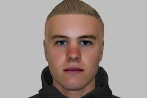 Police have released an Efit of a man they want to speak to in relation to a robbery in which the victim suffered facial injuries in Wakefield.