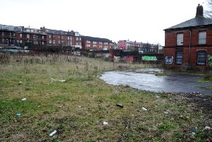 The former Royal Park School plot in Hyde Park, Leeds. Picture: Jonathan Gawthorpe.