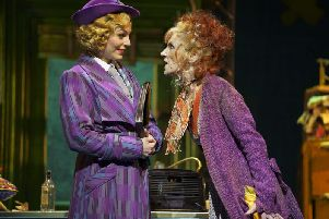 Anita Dobson stars as the head of the orphanage Miss Hannigan