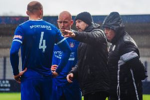 Farsley Celtic boss Adam Lakeland. Picture: Jon McEvoy/Farsley Celtic.