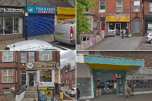 These are the Headingley businesses given one and two-star food hygiene ratings