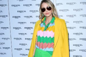 Made in Chelsea's Sophie Hermann at the Essentiel Antwerp launch party. Picture: Ian West/PA Wire