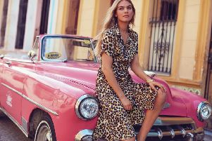 One day a shirt dress, the next day a fierce long jacket over an LBD or your skinny jeans. That's value for money. Cheetah print shirt dress, �69 at Sosandar.com
