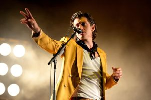 Alex Turner famously sings in his Sheffield accent. Photo: Shutterstock.