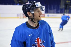 BRING IT ON: Sheffield Steelers' forward and GB captain Jonathan Phillips is relishing the opportunity to mix it with the sport's elite at the World Championships in Slovakia. Picture: Dean Woolley.
