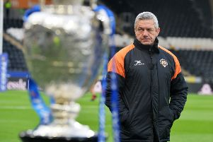 Castleford Tigers head coach Daryl Powell.