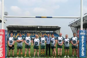 The Beadnall Bisons team at Headingley. Contributed picture.