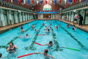 Bramley Baths opens its doors to celebrate community businesses