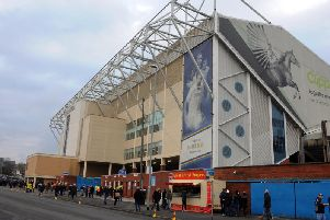 Nine people were arrested in and around Elland Road.