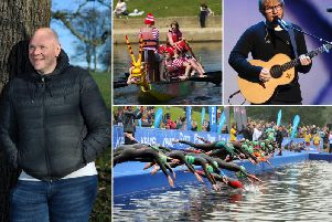 Events at Roundhay Park this Summer, including Tom Kerridge's Pub in the Park, Ed Sheeran's Homecoming tour and the Go Tri Triathlon