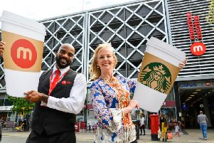 Starbucks has announced its latest branch which will be opening in the Merrion Centre later this Summer.