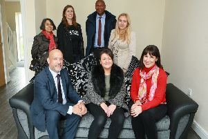 Leeds MP celebrates opening of new Armley affordable housing scheme