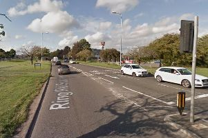 The A6120 in Seacroft