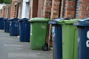 Leeds council have warned residents that failure to correctly sort their household rubbish could result in a fine.  PIC: Stu Norton.