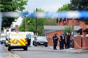 Christopher Lewis survived shooting attempt a day before he was blasted outside his house on Reginald Street, Chapeltown
