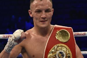 Josh Warrington issued warning to fans over fake Facebook profile