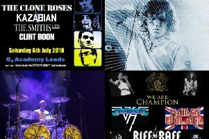 Rock legend tribute acts coming to O2 Academy Leeds