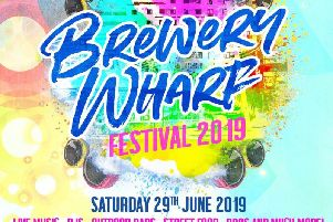 Brewery Wharf Festival returns on Saturday, June 29.