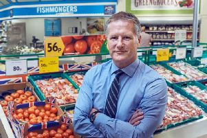 Morrisons'chiefexecutive David Potts