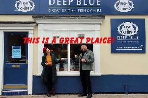 Hester Ullyart and Tom Trevella have started you off  - with thanks to Deep Blue, Beverley